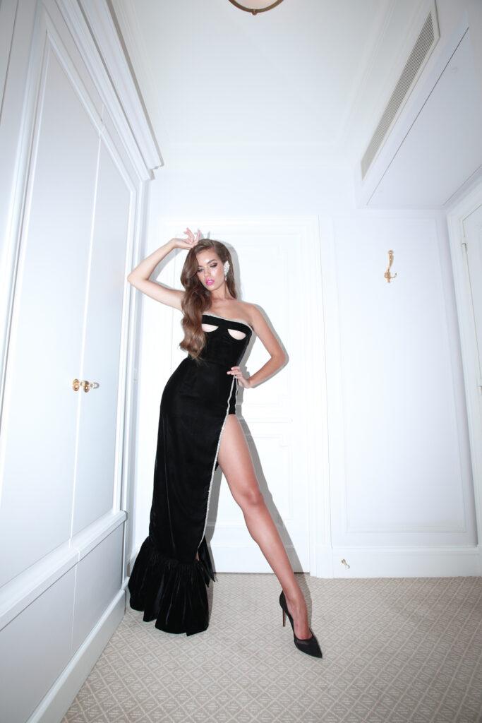 Олександра Кучеренко знялася у кампейні дизайнера Андре Тана