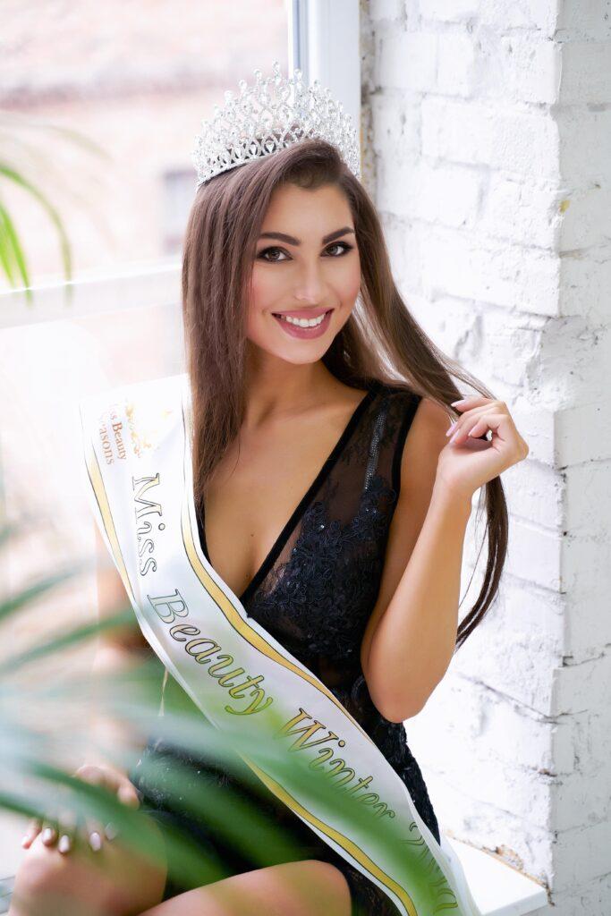 Переможниця  Miss Beauty Winter 2020 -  Гуслякова Луїза. Місто Львів