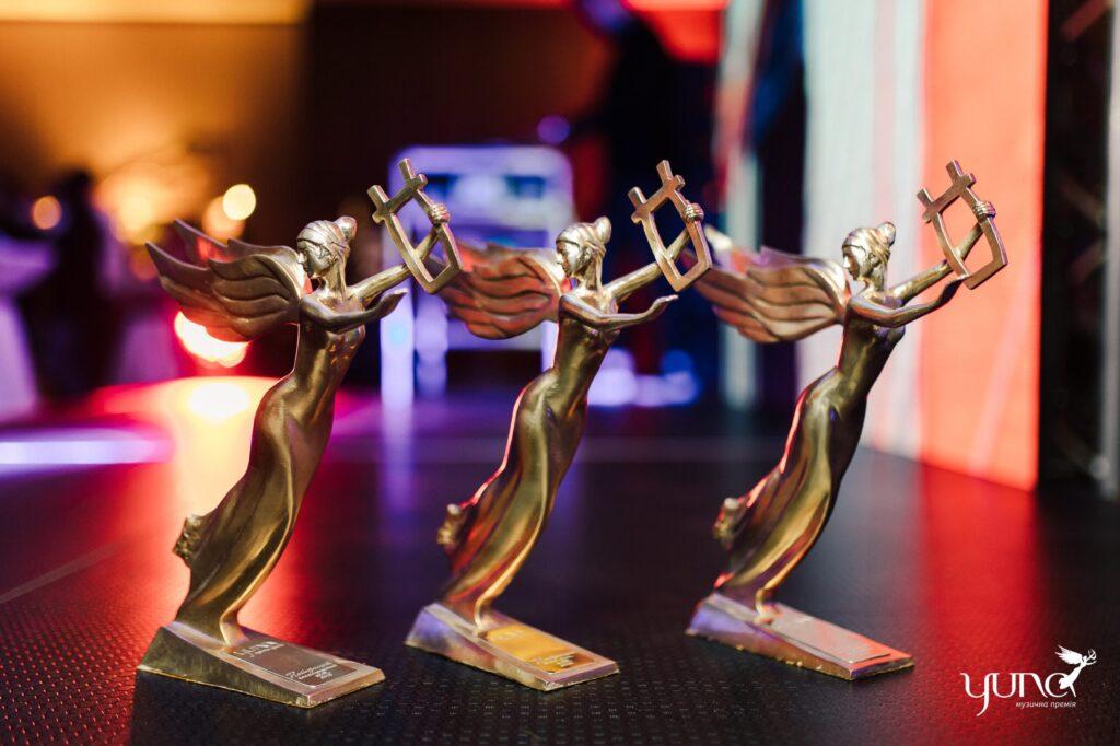 Організатори премії YUNA назвали імена перших хедлайнерів десятої ювілейної церемонії