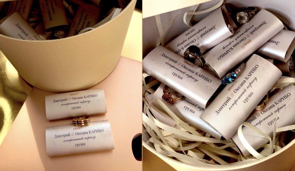 Весільна колекція солодощів - «нехай кохання не закінчується»