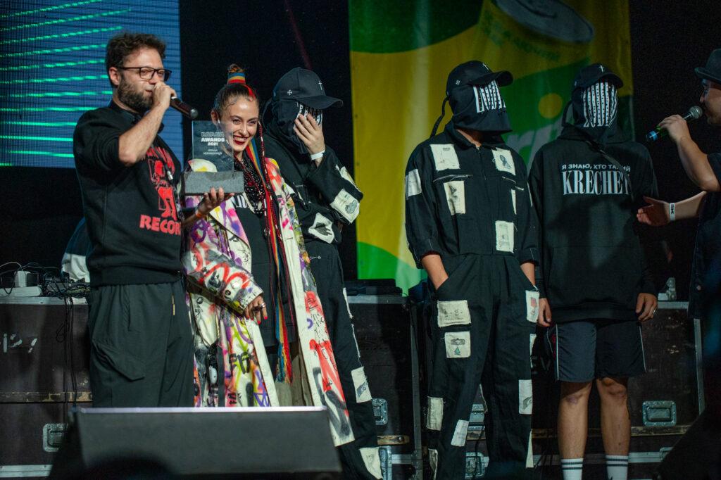 Аліна Паш, Krechet, Kalush - головні тріумфатори премії Rap.ua Awards 2021