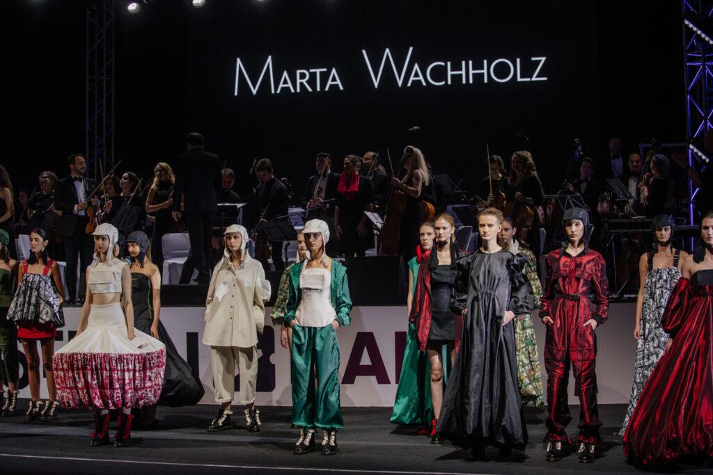 Відбувся показ нової колекції SS 2022 бренду Marta Wachholz в супроводі симфонічного оркестру INSO-Lviv